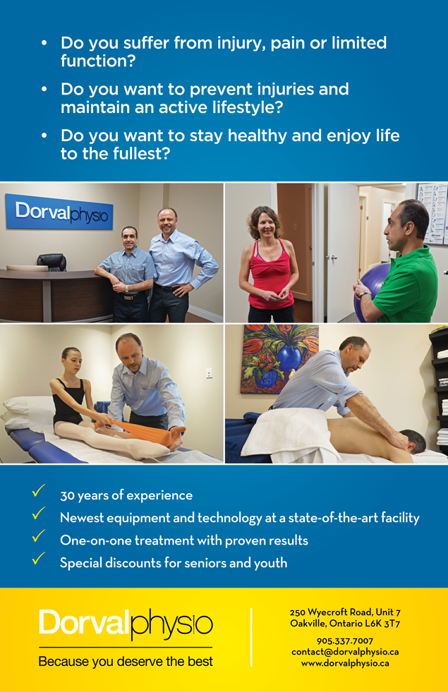 Dorval-Physiotherapy-Oakville-Official-About-Page