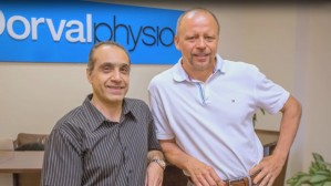 Ali Maleki and Libor Divilek Featured in New Dorval Physio Advertisement